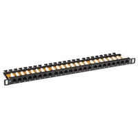 Patch Panel con SpaceGAIN CAT5e UTP Half-U