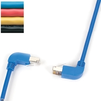 Cables de parcheo angular CAT5e UTP  90º