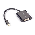 Adaptador Mini DisplayPort macho a DVI Hembra, pasivo