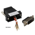 Kit adaptador modular sin montar DB15 to RJ-45