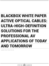 White paper de Active Optical Cable