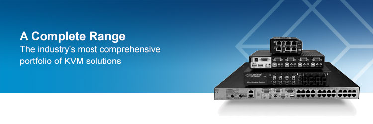 The industry's most comprehensive and complete portofolio of KVM Solutions working for you.